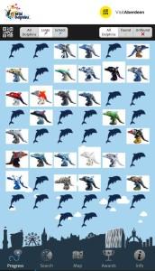 Wild Dolphins app scoreboard